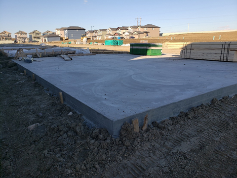 Build a Garage Pad