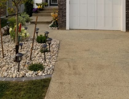 Concrete Garage Pad