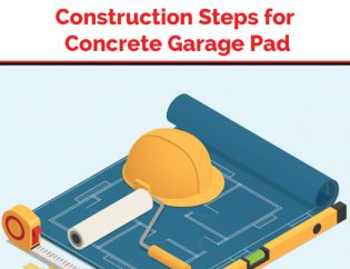 Concrete Garage Pad