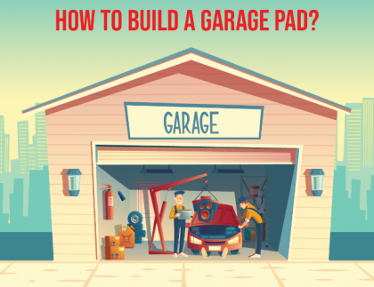 Build A Garage Pad