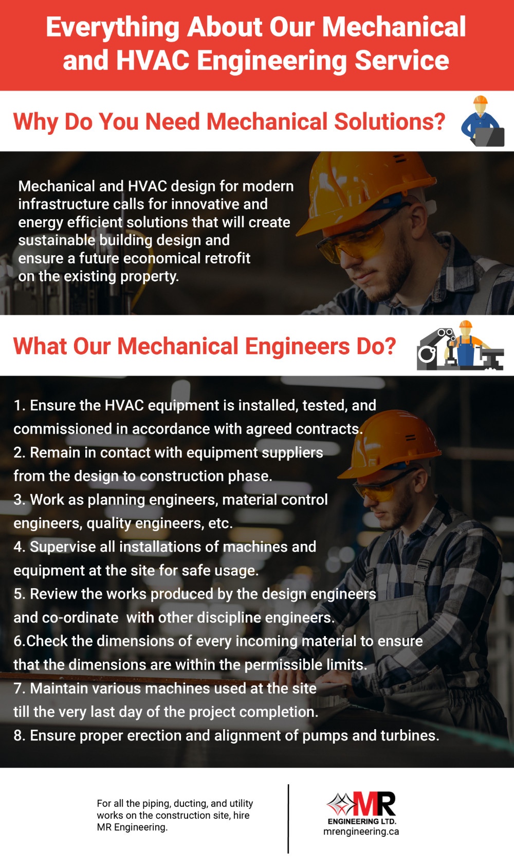 Our Mechanical and HVAC Engineering Service