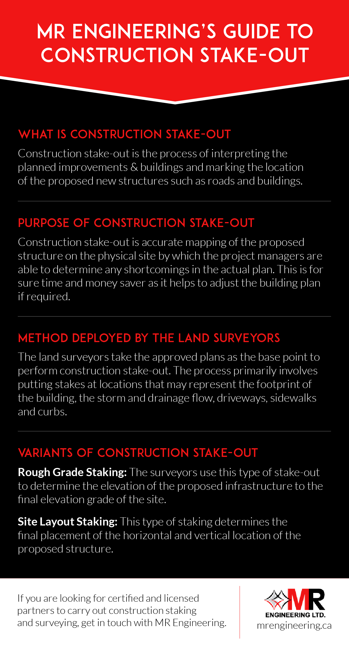 Guide To Construction Stake-Out